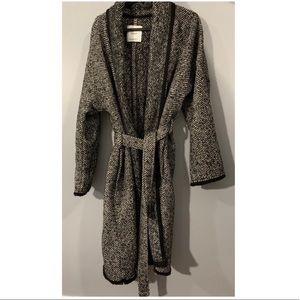 Mango Tweed Oversized Coat